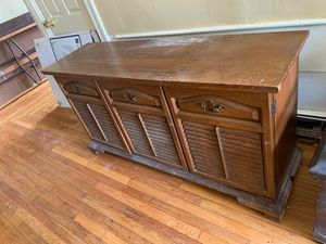Table with shelves for Sale in Stoughton, MA