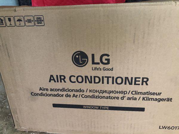 LG Window AC - 6000 BTU - New