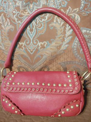 Gianni Bini Studded Leather Red Tradesy Hobo Bag for Sale in Tempe, AZ