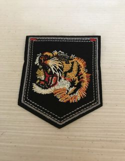 Tiger Black Iron On Patch for Sale in Raleigh,  NC