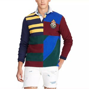 $245 Polo Ralph Lauren Rugby Patchwork Sport Bear Long Sleeve Shirt - NEW WITH TAG - Size Large - RARE ITEM for Sale in Gaithersburg, MD