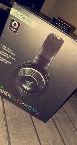 Razer Kraken 7.1 Chroma Headset for Sale in Huntington Beach, CA