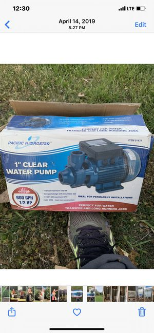 Water pump for Sale in Amarillo, TX