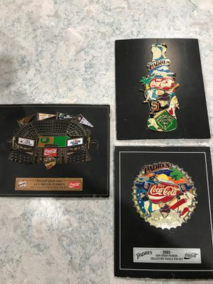San Diego Padres Collectors Pins Sets for Sale in San Marcos, CA