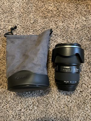 Canon EF 24-70mm F/2.8L II USM lens for Sale in Ontario, CA