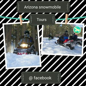 Snowmobile tours in northern arizona for Sale in Phoenix, AZ