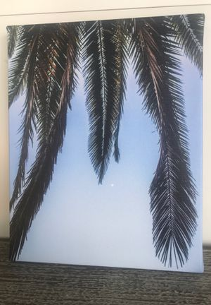 Palm Tree 8x10 Art Canvas for Sale in Federal Way, WA
