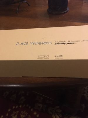 2.4G Wireless Keyboard and Mouse for Sale in Nashville, TN