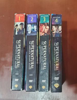 Supernatural seasons 1-4 for Sale in Riverton, UT