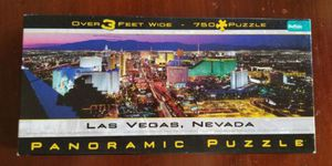 Buffalo Games Panoramic Puzzle Las Vegas, Nevada 750 piece for Sale in VLG WELLINGTN, FL