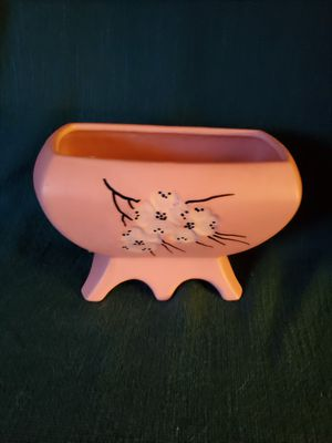 Vintage McCoy Dogwood Blossom Pink Planter for Sale in Peoria, IL