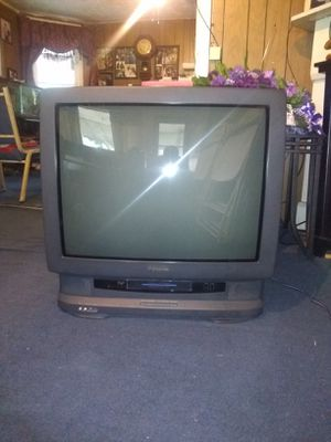 Panasonic tv/with vcr attached for Sale in Cleveland, OH