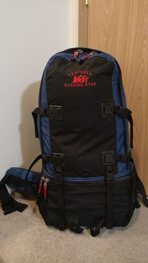REI Traverse Evening Star backpack Hiking/ traveling 65 L for Sale in Gresham, OR