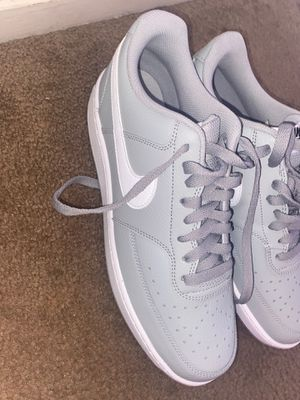 grey nike air forces for Sale in San Francisco, CA