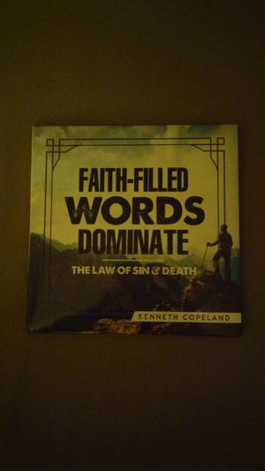 Faith-Filled Words Dominate the Law of Sin and Death CD for Sale in Santa Monica, CA