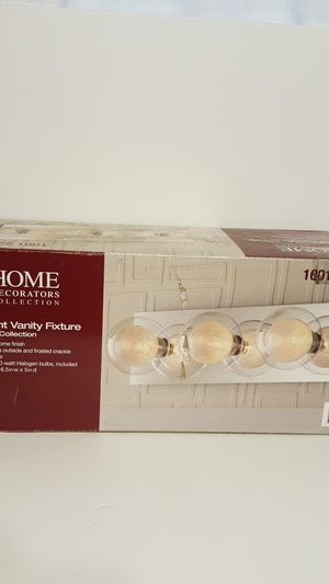 Home Decorators Collection 3 Light Ashton Collection Vanity Light for Sale in Baltimore, MD