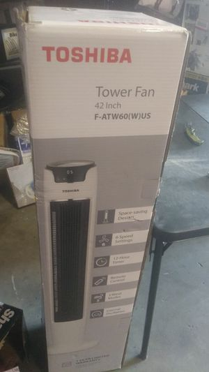 Toshiba 42 inch tower fan for Sale in Riverside, CA