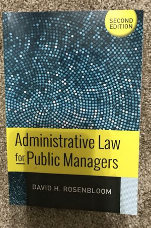 Administrative law for public managers for Sale in Lakeland, FL