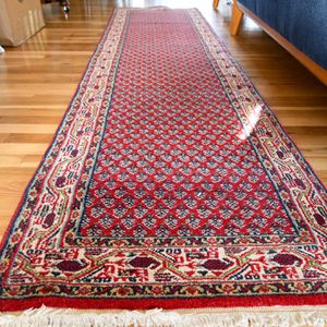2.4x9Hand Knotted Kurdish Wool Runner for Sale in Portland, OR