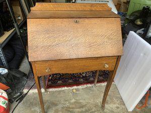 Antique oak secretary desk for Sale in Pembroke Pines, FL