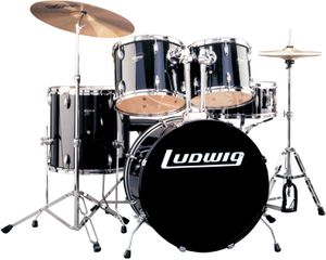 Ludwig Accent Combo + Zildjian cymbals + Sound Percussion mute pads for Sale in Culver City, CA