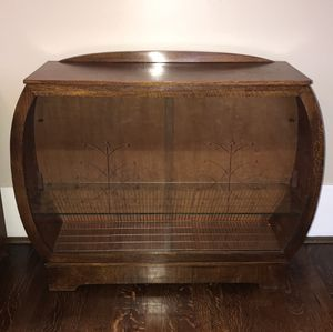Vintage Arts and Crafts Display Cabinet for Sale in Birmingham, AL