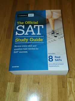 CollegeBoard SAT Study Guide for Sale in Canandaigua,  NY