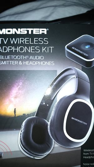 Monster bluetooth wireless headphones kit for Sale in Pasadena, TX