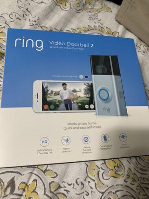 Ring video doorbell 2 for Sale in Aldie, VA