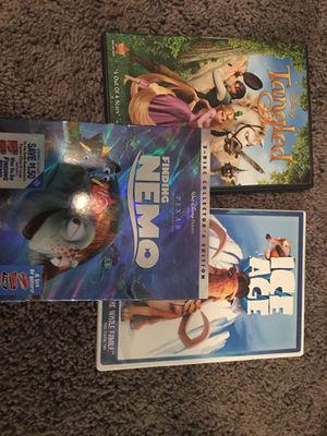 Ice Age, Tangled, and Finding Nemo for Sale in Austin, TX