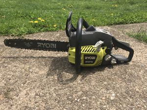 Ryobi 16 in. 37cc 2-Cycle Gas Chainsaw with Heavy Duty Case for Sale in Pittsburgh, PA