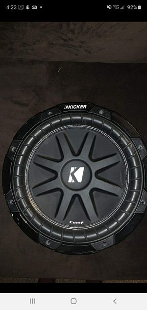 "Kicker 10"" New (1 Speaker) for Sale in Amarillo, TX"
