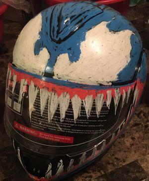 Dot custumed helmet for Sale in Los Angeles, CA
