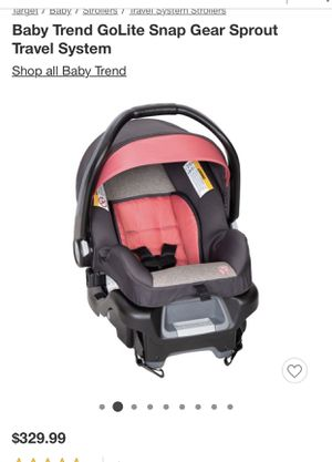 Car seat and base for Sale in San Jose, CA