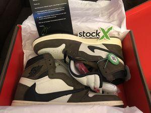 Travis Scott Jordan 1's Retro High Size 9.5 New in Box for Sale in Whittier, CA