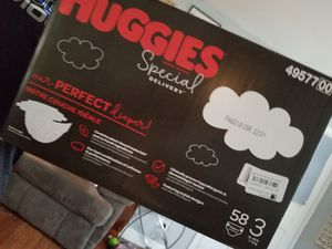 Huggies size 3 for Sale in San Antonio, TX
