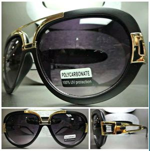 Matte Black & Gold Hip-Hop Sunglasses by Spexx for Sale in Washington, DC