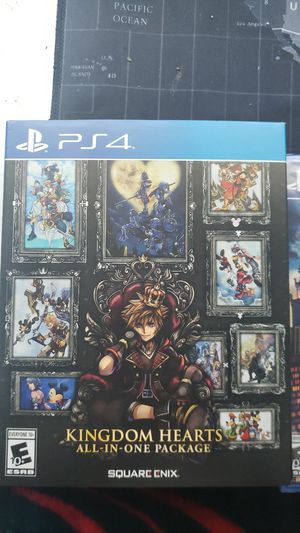 Kingdom hearts ALL IN ONE for Sale in Houston, TX