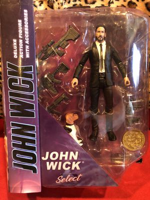 John Wick Diamond Select action figure movies for Sale in Beverly Hills, CA
