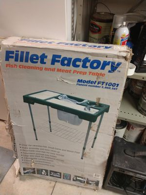 Fish Fillet Table for Sale in Hemet, CA