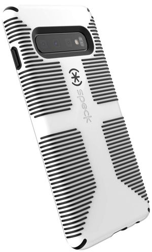 Speck Products CandyShell Grip Samsung Galaxy S10 Case, White/Black for Sale in Las Vegas, NV