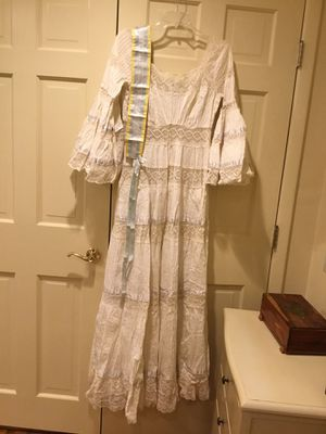 Vintage 70s Mexican boho wedding dress for Sale in Edison, NJ