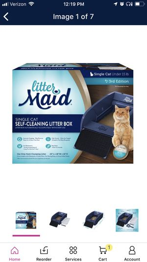 Self cleaning litter box for Sale in Durham, NC