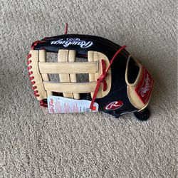 Rawlings Baseball Left Handed Glove PRORBH34BC for Sale in Encinitas,  CA