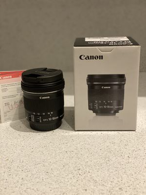 Canon EFS 10-18MM STM for Sale in Lawrence, NY
