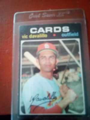 Vic Davalillo baseball card for Sale in Derby, CT