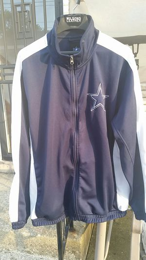 NFL DALLAS COWBOYS ZIP UP JACKET HOODIE ADULT XL for Sale in Chicago, IL
