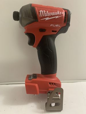 Milwaukee impact drill SURGE hex hydraulic driver FUEL brushless 4 speed (ONLY TOOL BRAND NEW)SOLO LA HERRAMIENTA for Sale in Dallas, TX