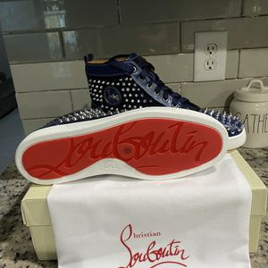 Christian Louboutin Red Bottoms Men Sneakers for Sale in Hollywood, FL