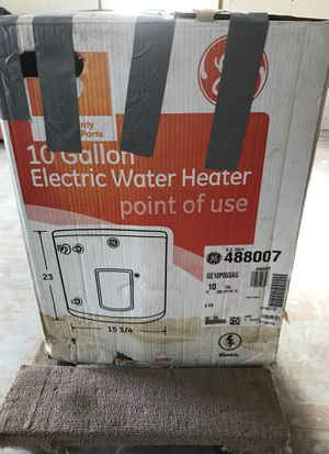 GE 10 Gallon Water Heater for Sale in Worcester, MA